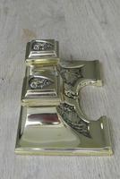 Fine Austrian German Jugendstil  Art Nouveau Double Brass Inkwell c.1905 (6 of 9)