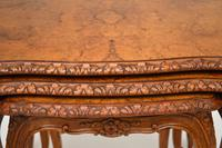 French Burr Walnut Nest of Tables (8 of 9)