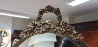French Gilt Bronze Cheval Mirror (10 of 10)