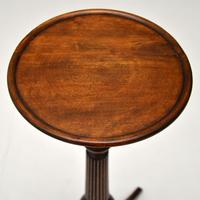 Antique Regency Style Mahogany Wine Table or Tochere (4 of 5)