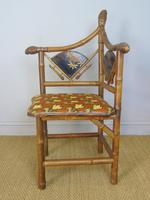Rare Victorian Aesthetic Chair by Jas Shoolbred (2 of 10)