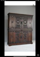 Gothic Carved Oak Cupboard (3 of 6)