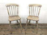 Pair of 19th Century Ash & Elm Chairs (2 of 10)