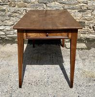 Small Antique French Elm Farmhouse Table (6 of 22)