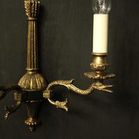 French Set Of 4 Empire Twin Arm Wall Lights (3 of 10)