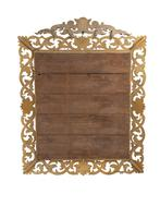 Large 19th Century Carved Giltwood Marginal Overmantle Mirror (16 of 16)