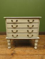Small Gustavian Style Painted Chest, Crafting Chest of Drawers (6 of 15)