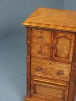 Antique Pair of Satinwood Bedside Cabinets by M. Woodburn (7 of 13)
