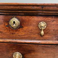18th Century Country House Antique Chest on Stand (5 of 7)