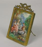 Beautiful Miniature Painting after Boucher Musicians in a Woodland (6 of 7)