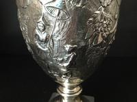 Antique Georgian Silver Crested Claret Jug - HEMING 1777 (4 of 7)