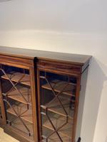 Edwardian Breakfront Bookcase (9 of 13)