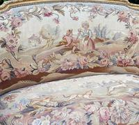 Gilt Needlepoint Sofa (3 of 6)