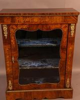 Victorian Pier Cabinet in Burr Walnut (6 of 8)