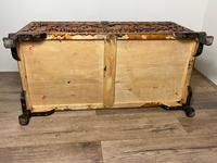 Chinese Camphor Wood Carved Birds & Flowers Chest Coffee Table (29 of 34)