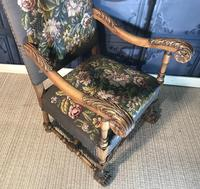 Carved Oak Chair (7 of 19)