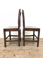 Pair of Country Bar Back Chairs (6 of 8)