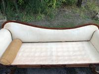 Regency Mahogany Sofa For Recovering (9 of 10)