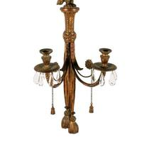 Large Carved Giltwood Wall Sconce (2 of 8)