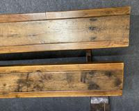 Rustic Oak Farmhouse Table & Bench Set (13 of 29)