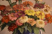 """Oil Painting by John Ernest Foster """"Summer Blooms"""" (7 of 7)"""