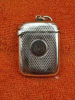 Antique Sterling Silver Hallmarked Vesta Case (2 of 12)