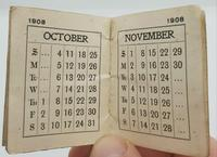 Miniature History of England by Goode bros. And a Causton Calander 1908 (3 of 4)