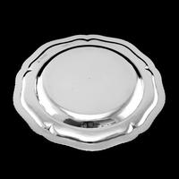 Antique Solid Silver Dish with Coat of Arms for Michael Bass, 1st Baron Burton - Garrard 1888 (11 of 21)