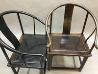 Chinese Horseshoe Throne Chair (4 of 6)