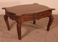 Louis XV Coffee Table in Oak - 18th Century (4 of 11)