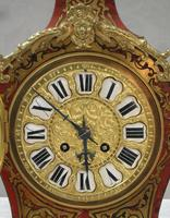 French Louis XV Style Boulle Mantel Clock by Samuel Marti (3 of 8)