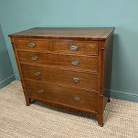 Georgian Oak Country Antique Chest of Drawers (3 of 8)