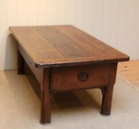 Substantial Early 19th Century French Oak Low Table (5 of 9)