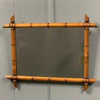 French faux bamboo mirror with foxing (4 of 4)