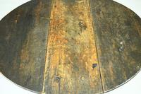 Early 18th Century Oak Drop Leaf Table (5 of 11)