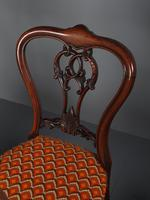 Set of 6 Mid Victorian Rosewood Dining Chairs (12 of 14)