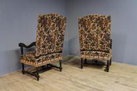Pair of French Walnut Armchairs (6 of 7)