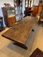 Oak refectory table (3 of 9)