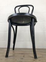 Set of Four Ebonised Bentwood Café Chairs (7 of 14)