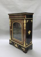 Pair of Victorian English Boulle Side Cabinets (3 of 11)