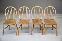 4 Beech & Elm Kitchen Chairs (7 of 12)