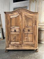 18th Century French Fruitwood Armoire (13 of 19)