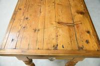 Victorian Pine Kitchen Table (5 of 7)