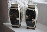 Pair of Early 20th Century Japanese Noritake Vases (6 of 10)