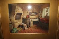 Antique Original Watercolour - A Devonshire Cottage - Henry Tozer 1864-1938 (5 of 11)