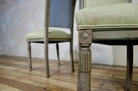 Pair of French Painted Louis XVI Style Side Chairs (7 of 12)