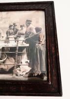 Victorian Photographic Print of Women Working at Quayside -Framed (3 of 4)