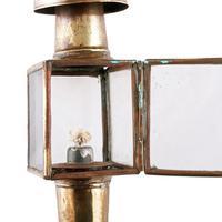 Pair of Miniature Hanging Oil Lamps (5 of 8)