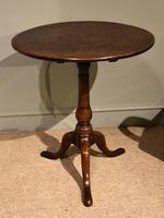 Oak Tripod Table 18th Century (2 of 4)