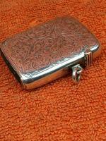 Antique Sterling Silver Hallmarked Large Vesta Case Sirus 1900, Horton & Allday (8 of 9)